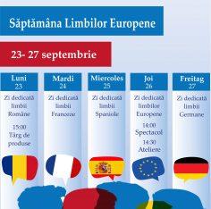 Saptamana Limbilor Europene, Scoala Europeana Bucuresti