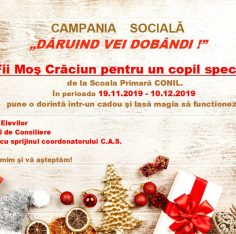 campania sociala, Scoala Europeana Bucuresti