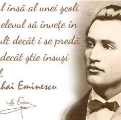 Mihai Eminescu, Scoala Europeana Bucuresti