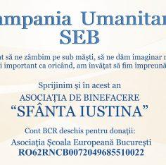 Campania Umanitara SEB, Scoala Europeana Bucuresti