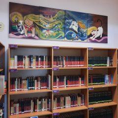 Biblioteca, Scoala Europeana Bucuresti